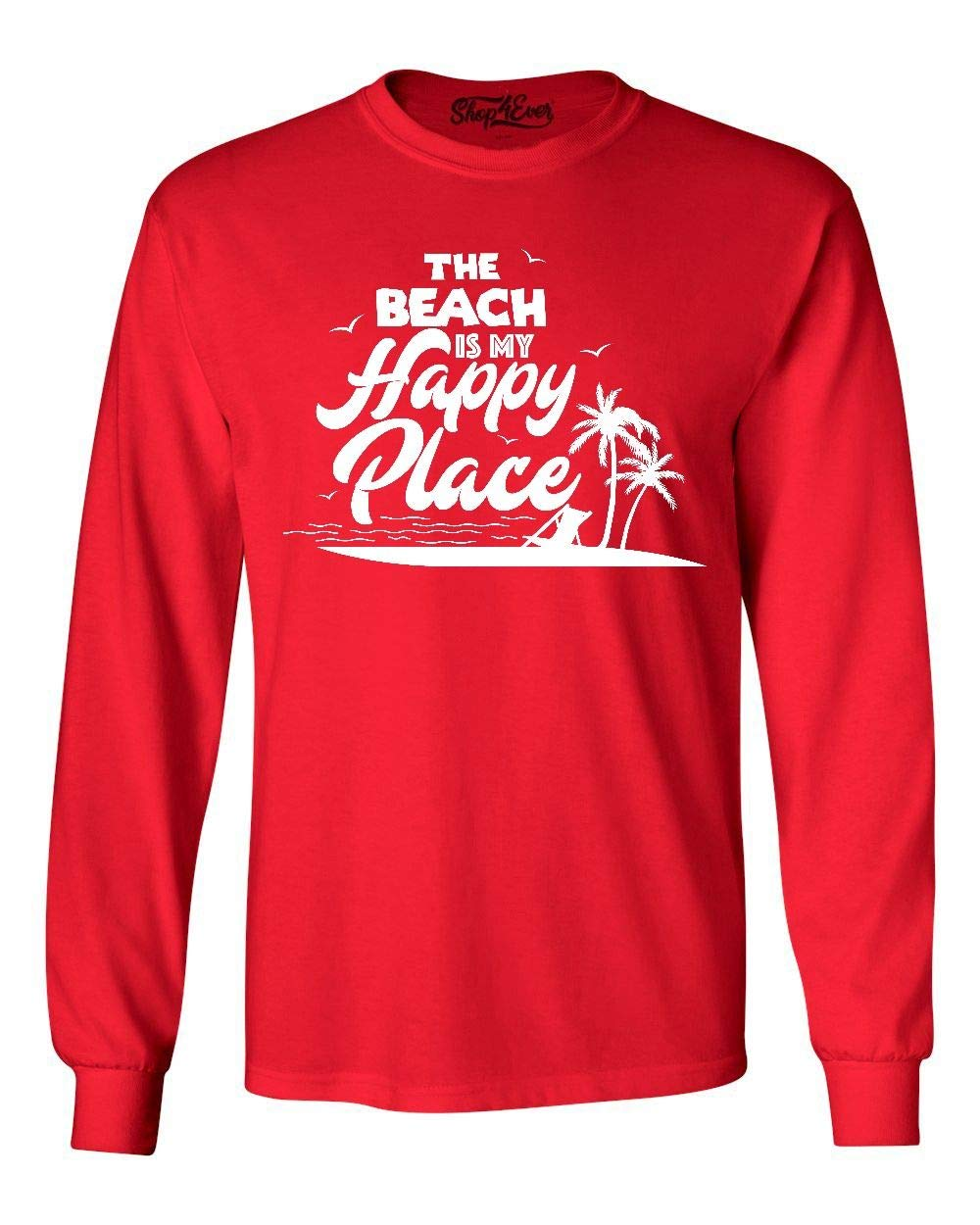 The Beach Is My Happy Place Shirt 7993