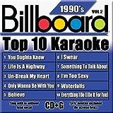 Billboard Top 10 Karaoke - 90's Vol. 2