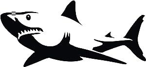 FSDS Animal Shark Wall Decal Decor - Ocean Sea Predator Animals Wall Stickers Decals Vinyl Décor Women Men Boys Girls - Animals Print Wall Decor for Living Room Bedroom Home Office