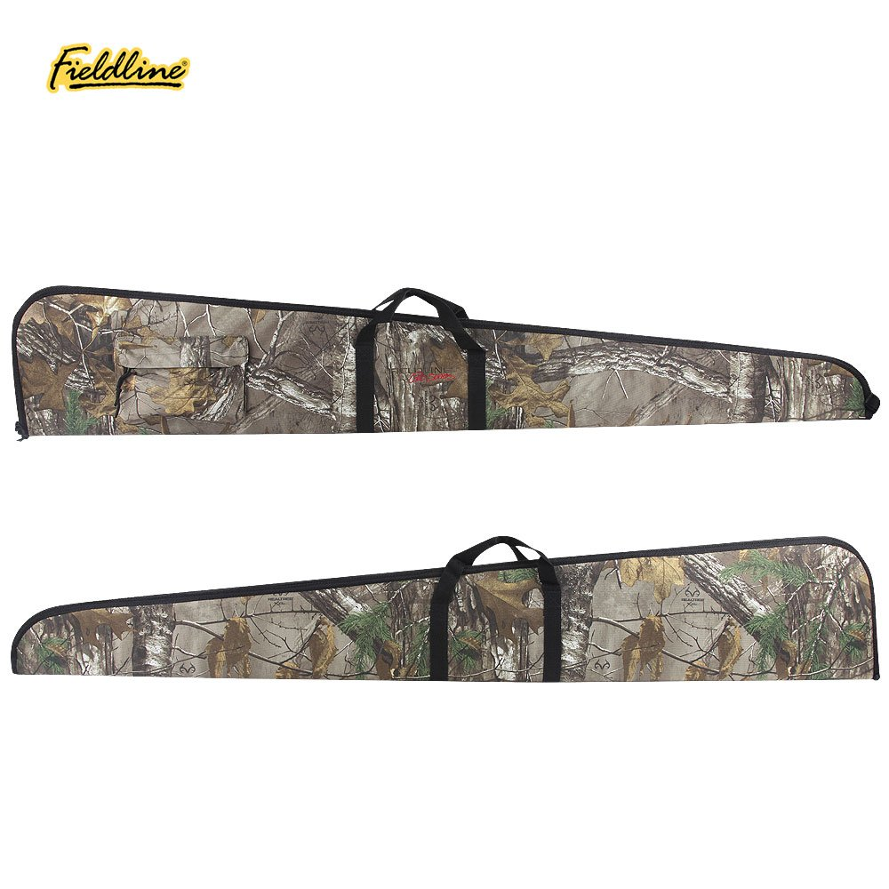 The Outdoor Recreation Group Fieldline Pro Series Rifle Case for Non-Scoped Rifles, 52-Inch, Realtree Xtra