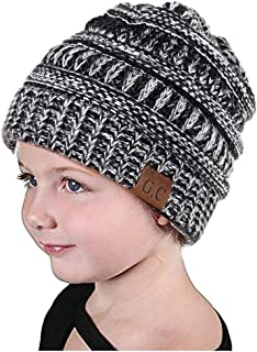 VAMEI Baby Knit Hats Cap Winter Warm Beanie Hats for Baby Girls Boys Toddler 2-6