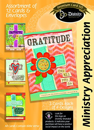 - Divinity Boutique Greeting Card Assortment: Ministry Appreciation, Colorful Crosses (22377N)