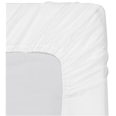 Utopia Bedding Fitted Sheet (Queen - White) - Deep Pocket Brushed Velvety Microfiber, Breathable, Extra Soft and Comfortable - Wrinkle, Fade, Stain and Abrasion Resistant