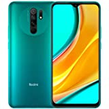 "Xiaomi Redmi 9 64GB, 4GB RAM, 6.53"" Full HD + AI Quad Camera, LTE Factory Unlocked Smartphone - International Version (Ocean"