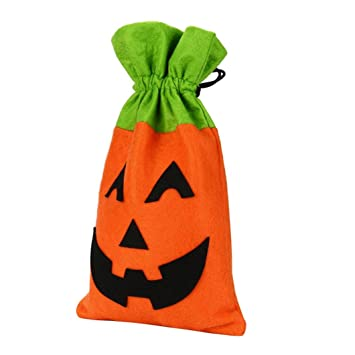 sinwo halloween bat bag devil bag kids candy handbag bucket children tote halloween handbag h - Halloween Handbag