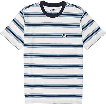 BILLABONG™ - Camiseta de Rayas - Hombre - L - Blanco: Amazon.es: Ropa y accesorios