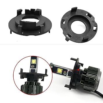 Coche LED Faros retenedores de la Holder HID Xenon H7 LED ...