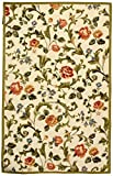 Safavieh Chelsea Collection HK310A Hand-Hooked Ivory Premium Wool Area Rug (2'6″ x 4′) Review