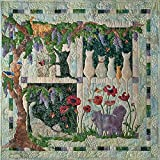 Kit~Wisteria Lane 39'' x 39'' Pre-Cut Laser Quilt Kit Pattern/Top/Binding by McKenna Ryan for Pine Needles Designs