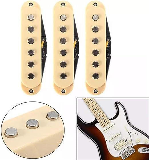 3 Guitarra Limpia Piezas de época Pastillas for Fender ...