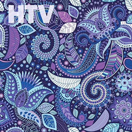 Paisley Pattern HTV, 12