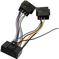 AERZETIX: Cable adaptador enchufe ISO H4 para autoradio