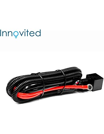 Innovited Universal relay wiring harness for all HID single kit H1, H3, H4,