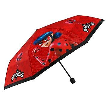 énorme réduction 93fa7 7a8d9 Miraculous Lady Bug Parapluie Rouge Pliant - Mini Parapluie ...