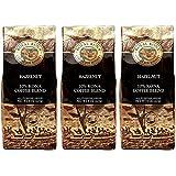 (ロイヤルコナコーヒー) ヘーゼルナッツ フレーバー コナブレンド コーヒー 227g×3パック (粉)