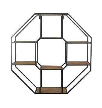 Schweberegale Hohe Qualität Wandregal Holz Metall Eisen