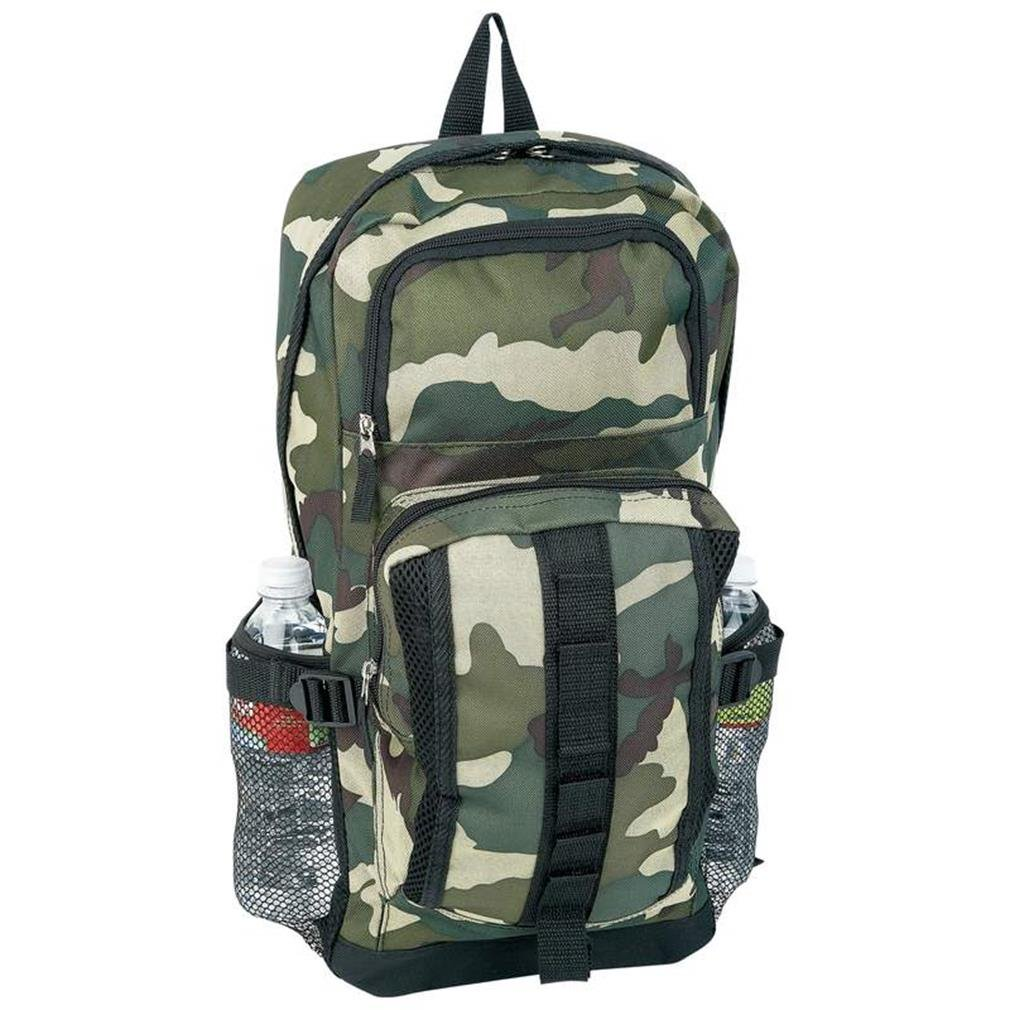 New Extreme Pak Invisible Pattern Water Repellent Heavy-Duty Camo Backpack Detachable Waist Bag