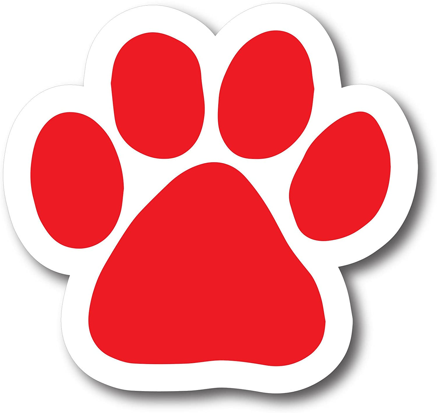 Magnet Me Up Honk if You Rescue Pawprint Car Magnet Paw Print Auto Truck Decal Magnet