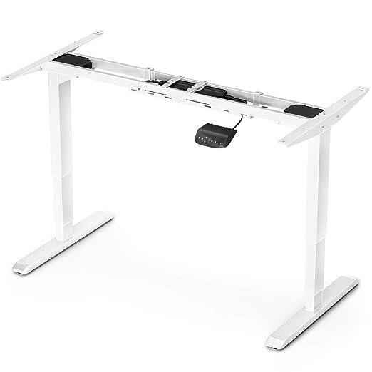 Deskfit Escritorio eléctrico Ajustable en Altura, Sistema ...