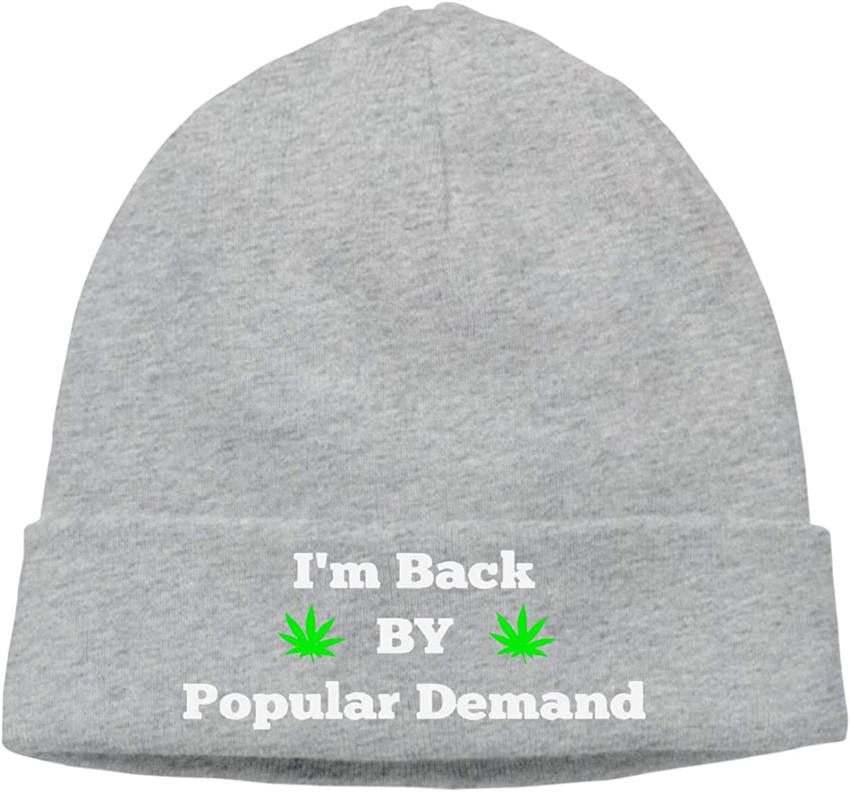 BBlooobow Mens/&Womens Weed for President Soft Knit Hats