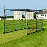 FORTRESS Mobile Cricket Cage - Fortify Your Batting Ability With The Ultimate Cricket Cage - [Net World Sports]