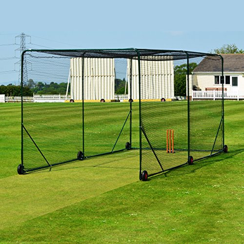 FORTRESS Mobile Cricket Cage - Fortify Your Batting Ability With The Ultimate Cricket Cage - [Net World Sports] by Net World Sports