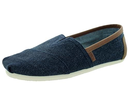 05bc2d7bd5a TOMS Classic Shoes Blue  Amazon.co.uk  Shoes   Bags