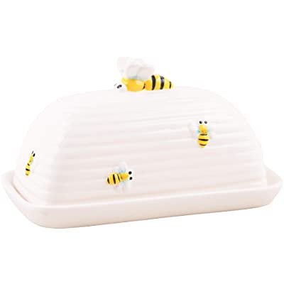 Home Essentials Honey Bee Butter Dish: Toys & Games