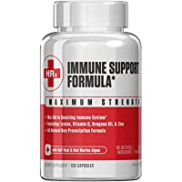 Immune Support Formula (Herp Rescue Discreet) Immune Support Supplement L Lysine, Zinc, Vitamin C, Oregano Oil 120…