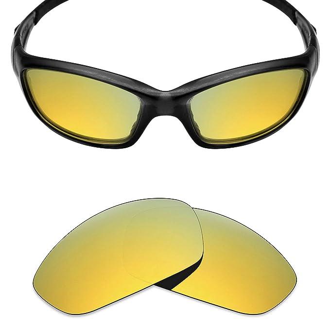 4170d8e3fc3fe MRY POLARIZED Replacement Lenses for Oakley Straight Jacket 2007 Sunglasses  (24K Gold)  Amazon.co.uk  Clothing