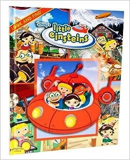 Look And Find Little Einsteins Dean Kleven 9781412767958 Amazon