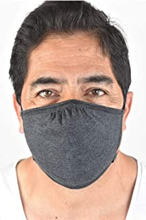 product image for DOUBLE LAYER, ANTI-MICROBIAL ADJUSTABLE MASK (Charcoal)