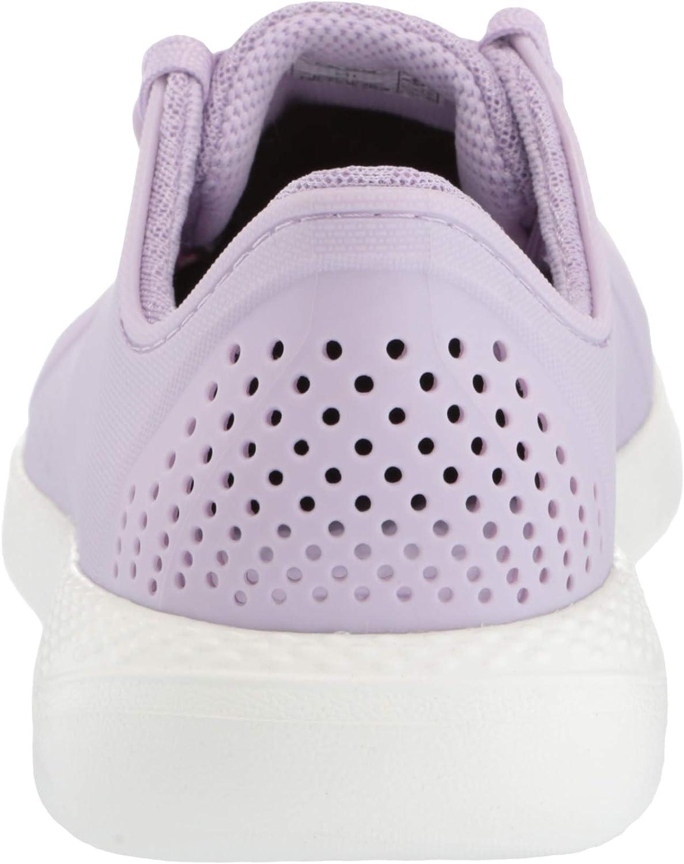 Croc's Chaussure Noire Femmes, Bateau Lavender White