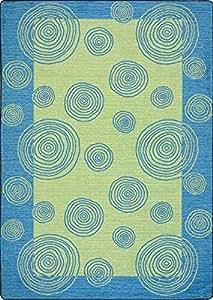 kids rug bright colors area rug teal 7 39 8 x 10 39 9 kitchen dining. Black Bedroom Furniture Sets. Home Design Ideas