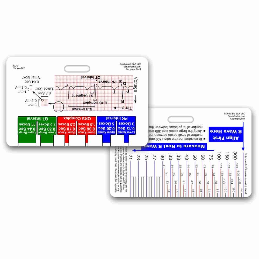 Amazon.com: Rapid ID - EKG & Myocardial Infarction (Horizontal ...
