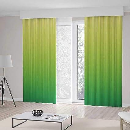 Amazon.com: YOLIYANA Blackout Curtains,Lime Green,Living ...