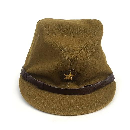 225296e9421 ZWJPW WW2 WWII Japan Officer Hats Japanese Caps Woolen Officer Cap ...