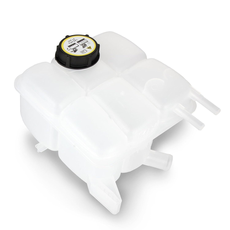 Botella del tanque de expansió n de Dromedary, reserva de almacenaje del lí quido refrigerante del radiador, nú mero de pieza LF8B15350B 3M5H-8K218-AJ reserva de almacenaje del líquido refrigerante del radiador Dromedary Autoparts