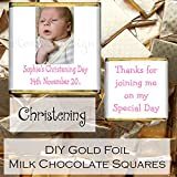 Eternal Design 10 x Personalised Glossy DIY Personalised Photo Milk Chocolate Favours PPLSC 2