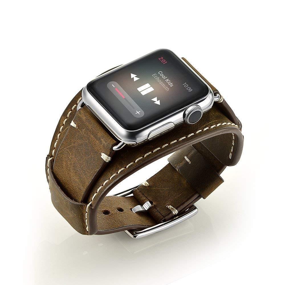 Malla Cuero Para Apple Watch (42/44mm) Goseth [71d37j5c]