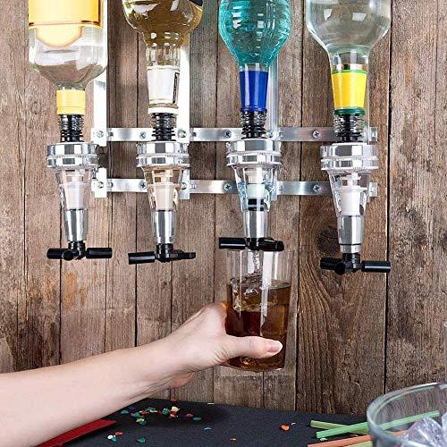 30ml Wall Mount Bar Butler Wine Beer Liquor Spirit Shot Dispenser Bottle