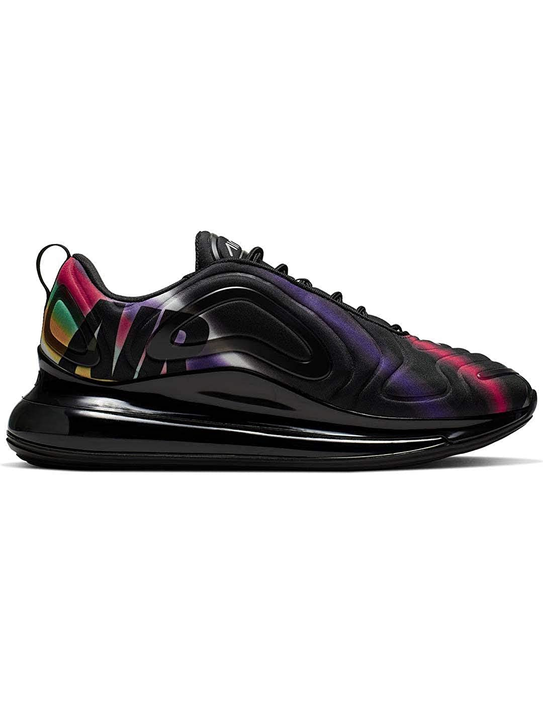 Nike Air Max 720 Sneakers Nero Multicolore AO2924 023 (42 Nero)