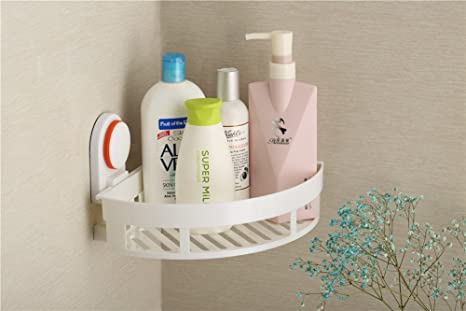 Accessori Da Bagno Con Ventosa : Antiruggine heavy duty potente ventosa bagno angolare doccia