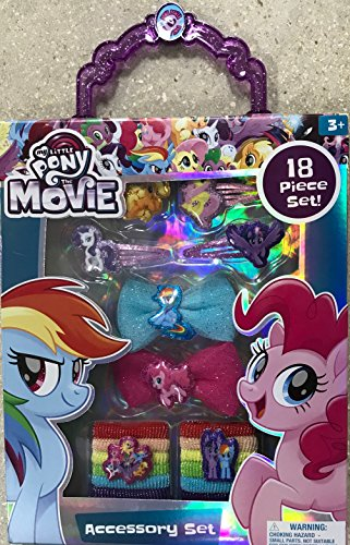 Disney & License Hair Accessory Gift Box Set For Girls,Perfect Gift Idea For Christmas,Birthday,Easter,Get Well or Any Other Occasion (My Little Pony)