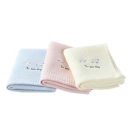 LongYu Toalla Algodón Necesidades diarias de Gasa Japonesa para Adultos Color Liso Bordado Toalla para los