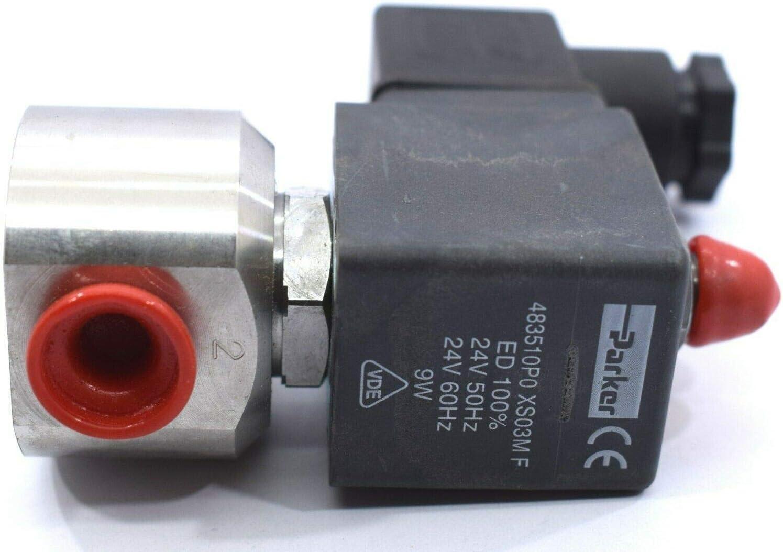 483510S6 Parker Lucifer Solenoid Coil  220-240V// 50Hz  240V 60Hz 9W Class F