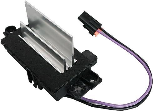 Upgraded Design Heating and Air Conditioning Blower Motor Resistor Module for Chevy Silverado Tahoe Suburban GMC Sierra Yukon Replaces# 4P1516 MT1805 RU-631 JA1639 BMR34