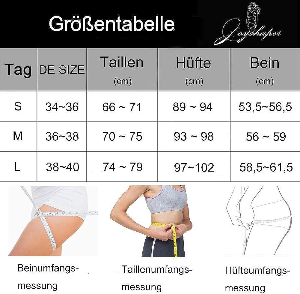 Joyshaper Miederhose Damen Bauch Weg Miederpants mit Bein Hohe Taille Taillenformer Shapewear Nahtlose Unterw/äsche