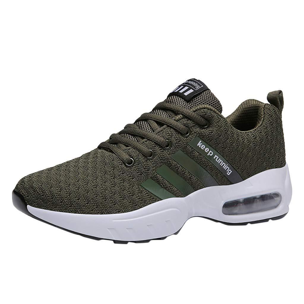 CUTUDE Herren Laufschuhe Sportschuhe Wanderschuhe Atmungsaktiv Outdoor rutschfeste Mode Lässig Sneaker Beiläufig Running Leicht Turnschuhe