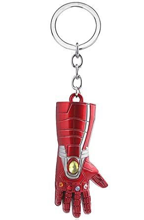 Amazon.com: Llavero de Iron Man Gauntlet con colgante de ...